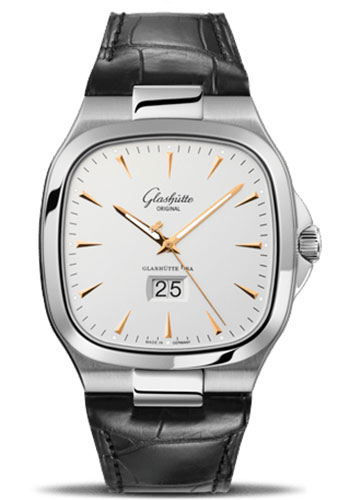 Glashutte Original Watches - 20th Century Vintage Seventies Panorama Date - Style No: 39-47-11-12-04
