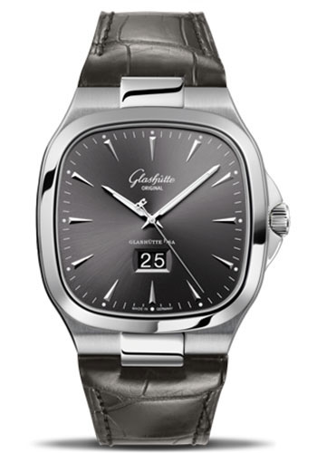 Glashutte Original Watches - 20th Century Vintage Seventies Panorama Date - Style No: 39-47-12-12-04