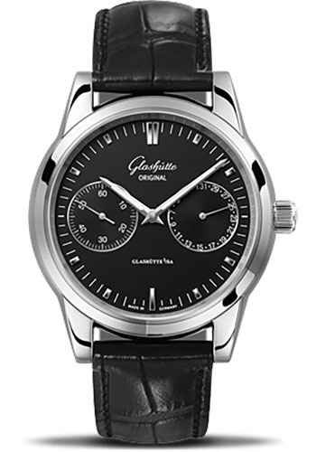 Glashutte Original Watches - Quintessentials Senator Hand Date - Style No: 39-58-01-02-04