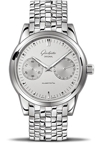 Glashutte Original Watches - Quintessentials Senator Hand Date - Style No: 39-58-02-02-14
