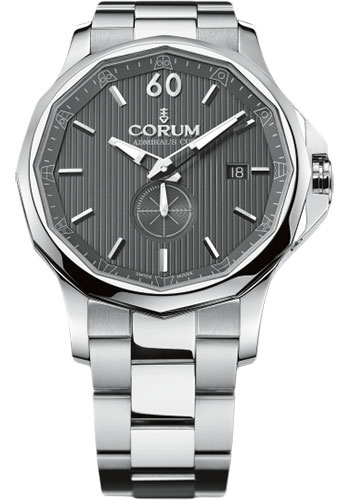 Corum Watches - Admiral Legend 42 mm - Stainless Steel - Style No: A395/01003 - 395.101.20/V720 AK10