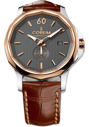 Corum Watches - Admiral's Cup Legend 42 Steel and Gold - Style No: 395.101.24/0F02 AK11