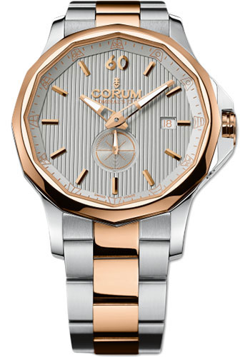 Corum Watches - Admiral Legend 42 mm - Steel and Gold - Style No: A395/01006 - 395.101.24/V720 FH11