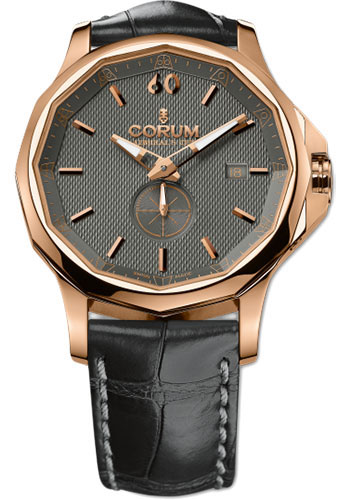 Corum Watches - Admiral's Cup Legend 42 Red Gold - Style No: 395.101.55/0001 AK12
