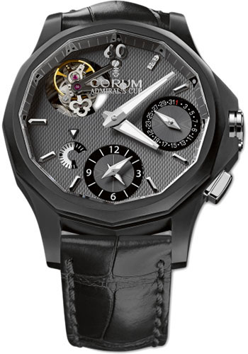 Corum Watches - Admiral's Cup Seafender 47 Tourbillon GMT - Style No: 397.101.18/0001 AK11