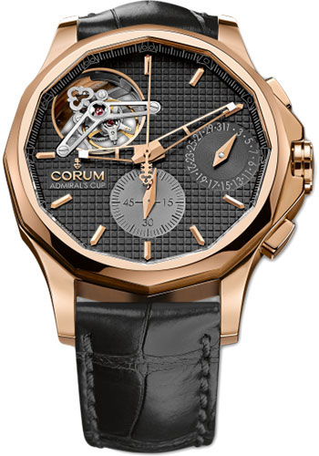 Corum Watches - Admiral's Cup Seafender 47 Tourbillon Chronograph - Style No: 398.550.55/0001 AN10