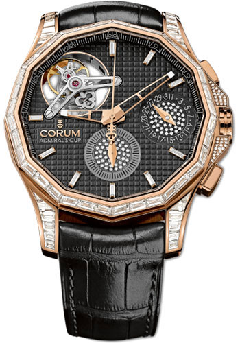 Corum Watches - Admiral's Cup Seafender 47 Tourbillon Chronograph - Style No: 398.599.85/0001 AN19