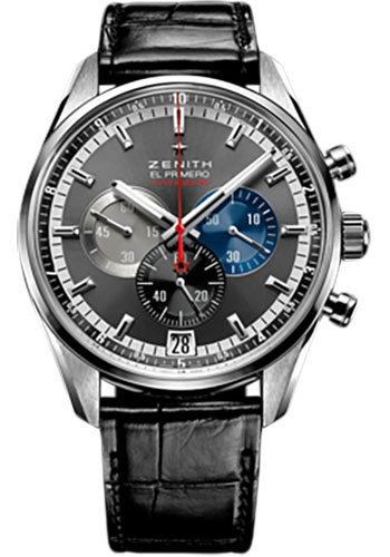 Zenith Watches - El Primero Striking 10th Platinum - Style No: 40.2041.4052/91.C496