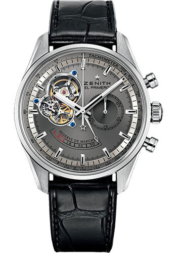 Zenith Watches - El Primero Chronomaster Power Reserve Platinum - Style No: 40.2082.4021/91.C496