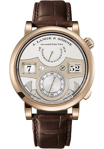 A. Lange & Sohne Watches - Zeitwerk Decimal Strike Honeygold - Style No: 143.05
