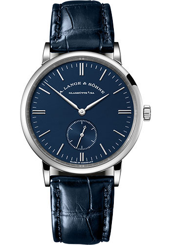 A. Lange & Sohne Watches - Saxonia White Gold - Style No: 219.028