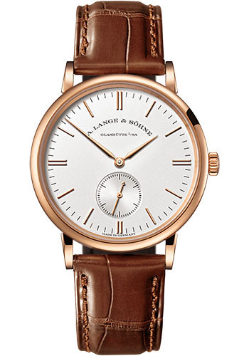 A. Lange & Sohne Watches - Saxonia Pink Gold - Style No: 219.032