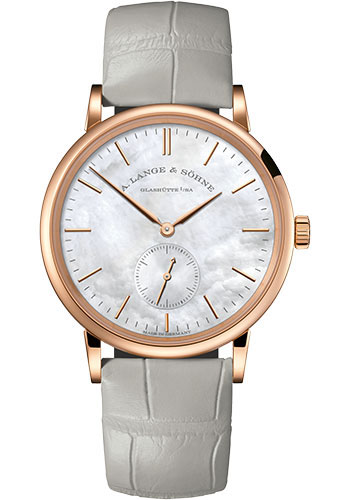 A. Lange & Sohne Watches - Saxonia Pink Gold - Style No: 219.043