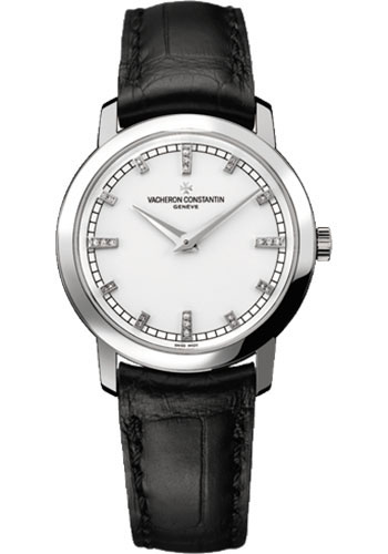 Vacheron Constantin Watches - Traditionnelle Small Model - White Gold - Style No: 25155/000G-9584