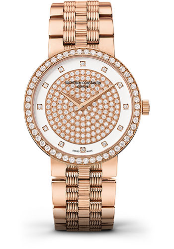 Vacheron Constantin Watches - Traditionnelle Small Model - Pink Gold - Style No: 25553/Q01R-9696