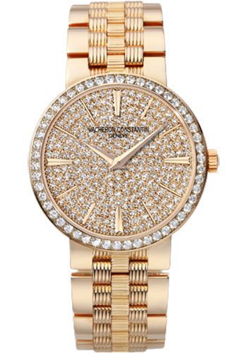 Vacheron Constantin Watches - Traditionnelle Small Model - Pink Gold - Style No: 25556/Q01R-9281