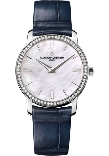 Vacheron Constantin Watches - Traditionnelle Small Model - White Gold - Style No: 25558/000G-B157