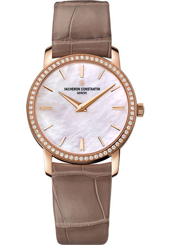 Vacheron Constantin Watches - Traditionnelle Small Model - Pink Gold - Style No: 25558/000R-B156