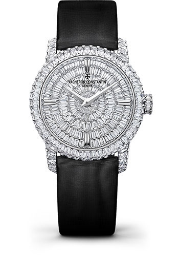 Vacheron Constantin Watches - Traditionnelle Small Model - High Jewellery - Style No: 25760/000G-9945