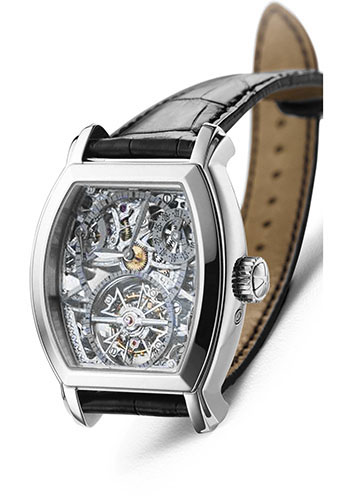 Vacheron Constantin Watches - Malte Tonneau Openworked Tourbillon - Style No: 30067/000P-8953