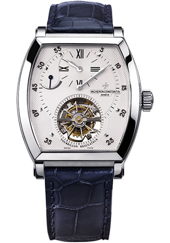 Vacheron Constantin Watches - Malte Tonneau Tourbillon Regulator - Style No: 30080/000P-9357