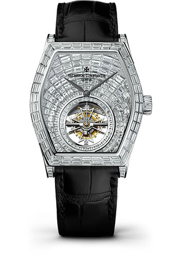 Vacheron Constantin Watches - Malte Tourbillon High Jewellery - Style No: 30630/000G-9899