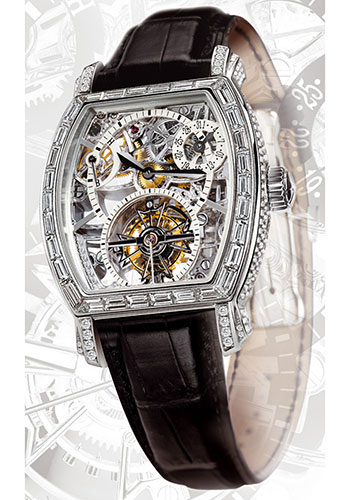 Vacheron Constantin Watches - Malte Tonneau Openworked Tourbillon - Style No: 30669/000P-8953