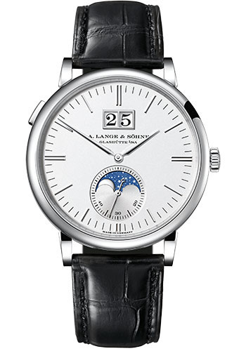 A. Lange & Sohne Watches - Saxonia Moon Phase - Style No: 384.026