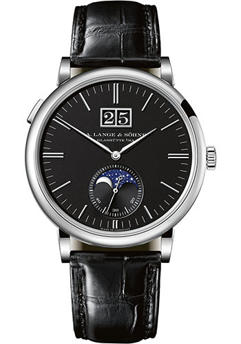 A. Lange & Sohne Watches - Saxonia Moon Phase - Style No: 384.029