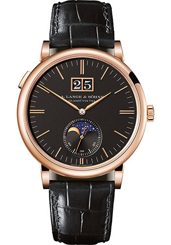 A. Lange & Sohne Watches - Saxonia Moon Phase - Style No: 384.031