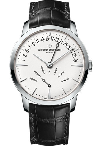 Vacheron Constantin Watches - Patrimony Retrograde Day-Date - Style No: 4000U/000G-B112
