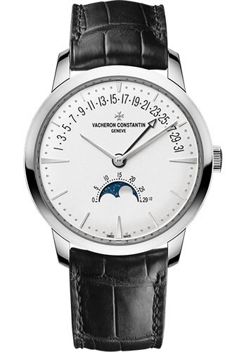 Vacheron Constantin Watches - Patrimony Moon Phase And Retrograde Date - Style No: 4010U/000G-B330