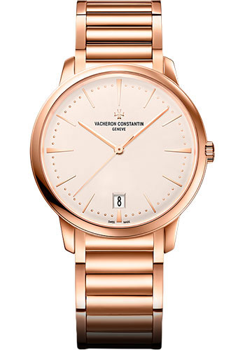 Vacheron Constantin Watches - Patrimony Small Model With Date - Style No: 4100U/110R-B180