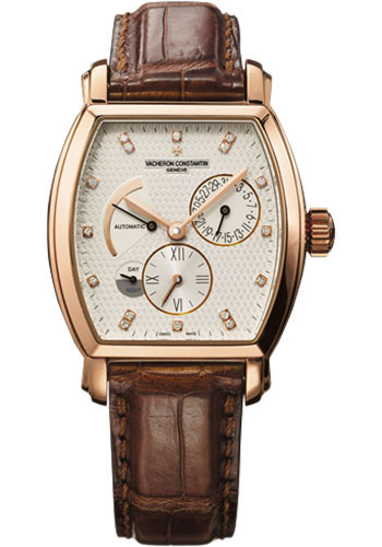 Vacheron Constantin Watches - Malte Dual Time - Style No: 47400/000R-9417