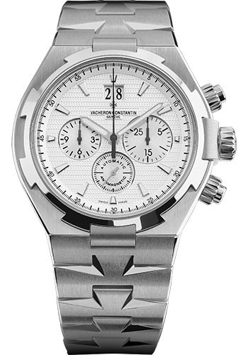 Vacheron Constantin Watches - Overseas Chronograph - Stainless Steel - Style No: 49150/B01A-9095