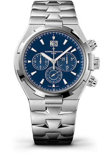 Vacheron Constantin Watches - Overseas Chronograph - Stainless Steel - Style No: 49150/B01A-9745