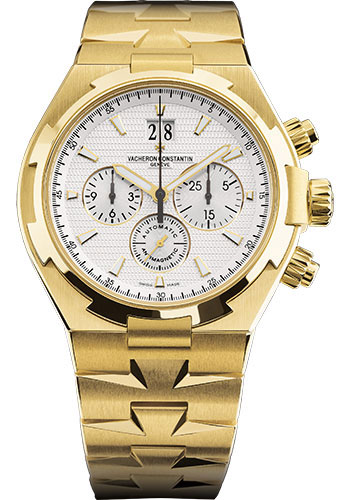 Vacheron Constantin Watches - Overseas Chronograph - Yellow Gold - Style No: 49150/B01J-9215