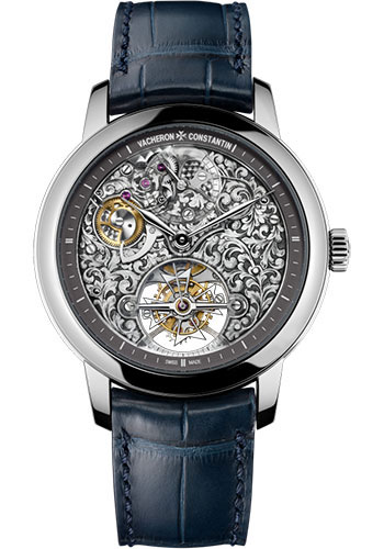 Vacheron Constantin Watches - Metiers d'Art Mecaniques Gravees - 14-Day Tourbillon - Style No: 6000A/000P-B025