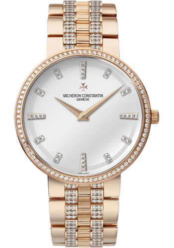 Vacheron Constantin Watches - Traditionnelle Manual Winding - Pink Gold - Style No: 81574/V03R-9428