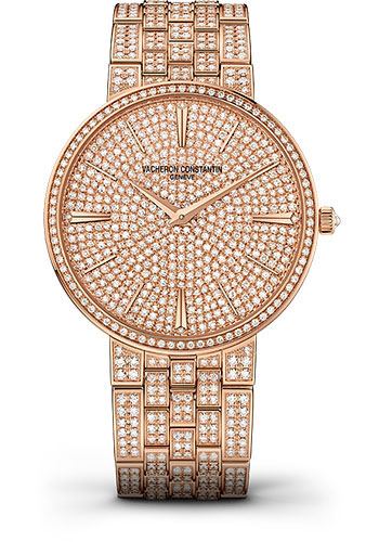 Vacheron Constantin Watches - Traditionnelle Manual Winding - Pink Gold - Style No: 81575/V02R-9275
