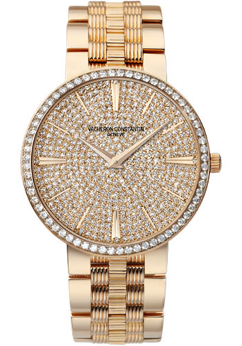 Vacheron Constantin Watches - Traditionnelle Manual Winding - Pink Gold - Style No: 81576/V01R-9275