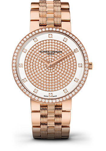 Vacheron Constantin Watches - Traditionnelle Manual Winding - Pink Gold - Style No: 81576/V01R-9695