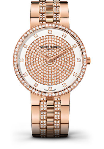 Vacheron Constantin Watches - Traditionnelle Manual Winding - Pink Gold - Style No: 81576/V03R-9695