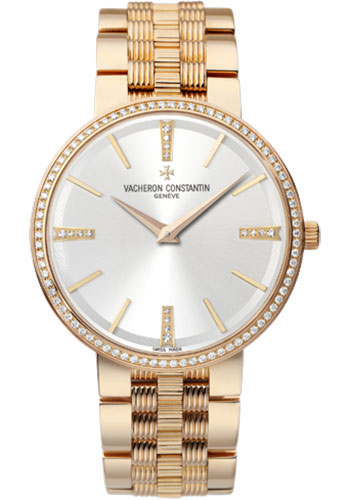 Vacheron Constantin Watches - Traditionnelle Manual Winding - Pink Gold - Style No: 81577/V01R-9271