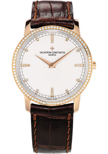 Vacheron Constantin Watches - Traditionnelle Manual Winding - Pink Gold - Style No: 81578/000R-9354