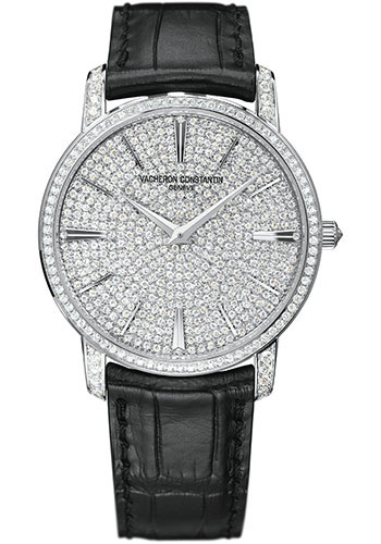 Vacheron Constantin Watches - Traditionnelle Fully Paved Large Size - Style No: 81579/000G-9274