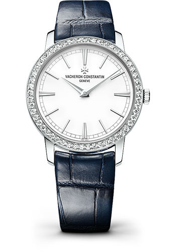 Vacheron Constantin Watches - Traditionnelle Small Model - White Gold - Style No: 81590/000G-9848