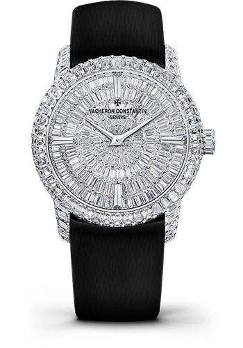 Vacheron Constantin Watches - Traditionnelle High Jewellery Medium Model - Style No: 81760/000G-9862