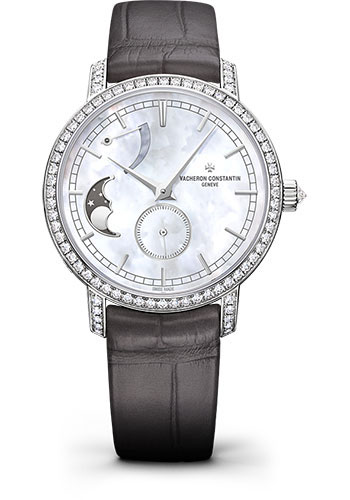 Vacheron Constantin Watches - Traditionnelle Moon Phase And Power Reserve Small Model - Style No: 83570/000G-9916
