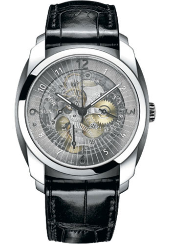 Vacheron Constantin Watches - Quai de l'Ile Day-Date and Power Reserve - Style No: 85050/000D-09O00